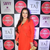 Poonam Dhillon at Savvy Honours 2016