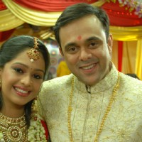 Lovely couple Apoorva and Aarti