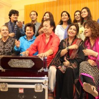 Ghazal singers at Rehearsal of the15th Khazana Ghazal Festival 2016