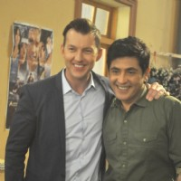 Brett Lee and Asif Sheikh promotes 'Unindian' at Bhabhi Ji Ghar Par hai