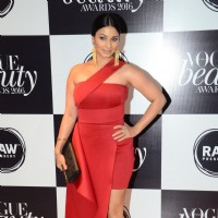 Tanishaa Mukerji at Vogue Beauty Awards 2016