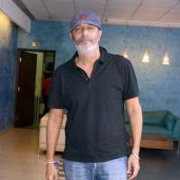 Chunky Pandey at Special screening of the film 'Dishoom'
