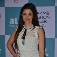 Divya Khosla at Lakme all size fashion show auditions