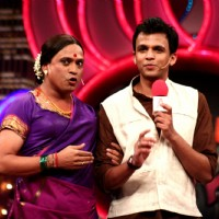 Rajiv Nigam and Abhijeet Sawant in the show Laughter Ke Phatke
