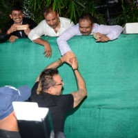 Sanjay Dutt meets his fans on his birthday