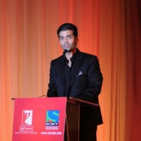 Karan Johar launching the show Lift Kara De