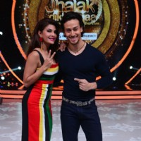 Tiger Shroff and Jacqueline Fernandes Promotes 'A Flying Jatt' on Jhalak Dikhhla Jaa