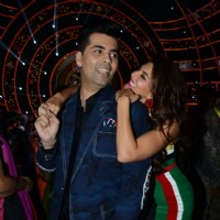 Karan Johar and Jacqueline Fernandes Promotes 'A Flying Jatt' on Jhalak Dikhhla Jaa