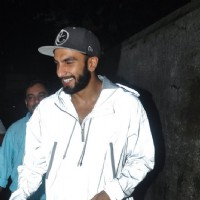 Ranveer Singh snapped in anti-pap jacket