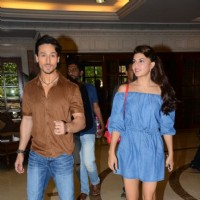 Tiger Shroff and Jacqueline Fernandes Promotes 'A Flying Jatt' at Radio City