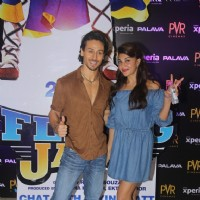 Tiger Shroff and Jacqueline Fernandes Promotes 'A Flying Jatt' at new PVR in Dombivli