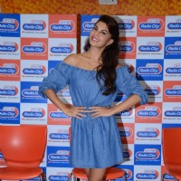 Jacqueline Fernandes Promotes 'A Flying Jatt' at Radio City