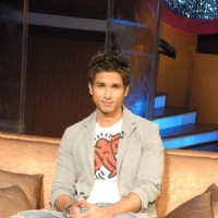 Shahid Kapoor in the show Lift Kara De