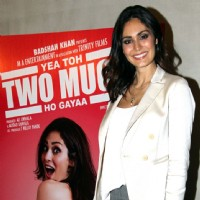 Bruna Abdullah at Launch of film 'Yea Toh Two Much Ho Gayaa'