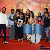 Cast click selfie at Trailer launch of movie 'Banjo'