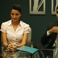 Still image of Shruti and Kavi