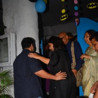 Vidya Balan with Siddharth Roy Kapur and Family Snapped at Olives Restaurant
