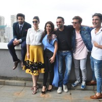 Photo shoot of team 'Happy Bhag Jayegi'