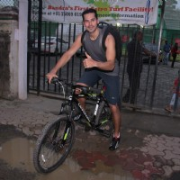 Dino Morea snapped at soccer match