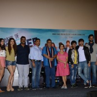 Subhash Ghai, Rashmi Sharma along with cast at Trailer launch of 'Days of Tafree'