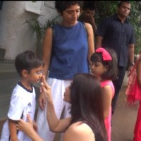 Aishwarya Rai Bachchan and Kiran Rao with their Kids at Vidya's kids Bday Bash