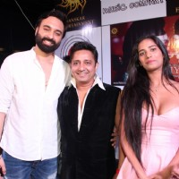 Poonam Pandey and Sukhwinder Singh at Launch of Sanskar Entertainment