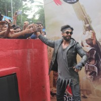 Ranveer Singh Promotes of 'Ranveer Ching Returns' at Gaitey Galaxy Theatre