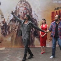Ranveer Singh and Tamannnah Bhatia Promotes of 'Ranveer Ching Returns' at Gaitey Galaxy Theatre