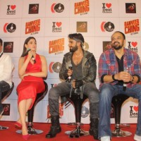 Promotions of 'Ranveer Ching Returns' at Gaitey Galaxy Theatre