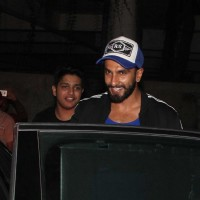 Ranveer Singh Snapped outside Sanjay Leela Bhansali's house!