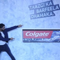 Ranveer Singh at Colgate event