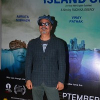 Vinay Pathak at Press meet of Island City