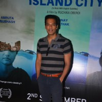 Samir Kochhar at Press meet of Island City