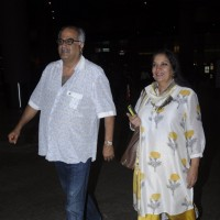 Shabana Azmi and Boney Kapoor Snapped at Airport!
