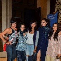 Manasi Scott and Mandira Bedi at Lakme Fashion Week Day 3