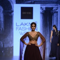 The Sizzling beauty Ileana D'Cruz  at Lakme Fashion Show Day 5