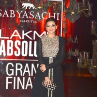 Kajal Aggarwal at Grand Finale of Lakme Fashion Show 2016