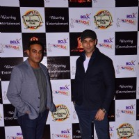 Nandish Singh Sandhu at BCL Gujarat Bash!Nandish Singh Sandhu and Gaurav Aggarwal at BCL Gujarat Bas