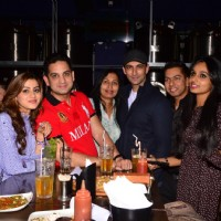 Nandish Singh Sandhu, Reshmi Ghosh and Vikas Kalantri at BCL Gujarat Bash!