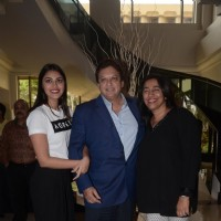 Anu Ranjan, Shashi Ranjan and Anushka Ranjan at ITA school event 2016