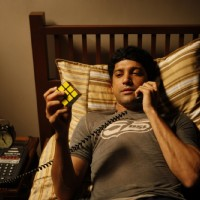 Farhan Akhtar in the movie Karthik Calling Karthik | Karthik Calling Karthik  Photo Gallery