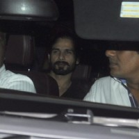 Shahid Kapoor snapped at Bhansali office