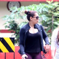 Bipasha Basu snapped post leaving Gym!