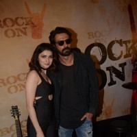 Arjun Rampal and Prachi Desai at Teaser Launch of ROCK ON 2!