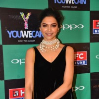 Deepika Padukone at Launch of Yuvraj Singh's new Clothing line 'YouWeCan'