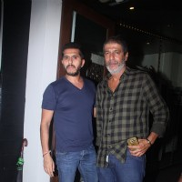 Chunky Pandey at Baba Dewan's Bash