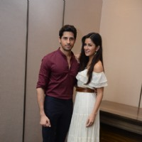 Sidharth Malhotra and Katrina Kaif at Promotion of 'Baar Baar Dekho' in Delhi