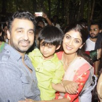 Ganesh Visarjan 2016: Shilpa Shetty and Raj Kundra