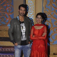 Shabbir Ahluwalia and Sriti Jha promotes 'Banjo' on the sets of Kum Kum Bhagya
