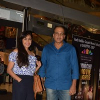 Ashutosh Gowarikar and Sunita Gowariker at Special screening of 'Bar Bar Dekho'
